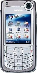 Nokia 6680 front